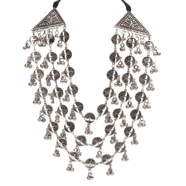 Tri-Layered Statement Neckpiece