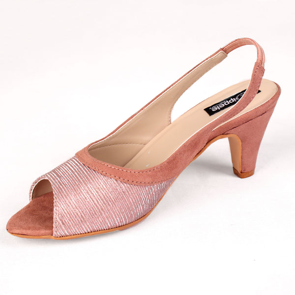 Foot Wear,The Artistic Scrub Heel in Rose Gold Pink - Cippele Multi Store
