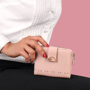Wallet,The pretty Blooming Pink Wallet - Cippele Multi Store