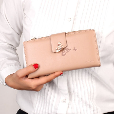 The Lovely Titli wallet in Nude