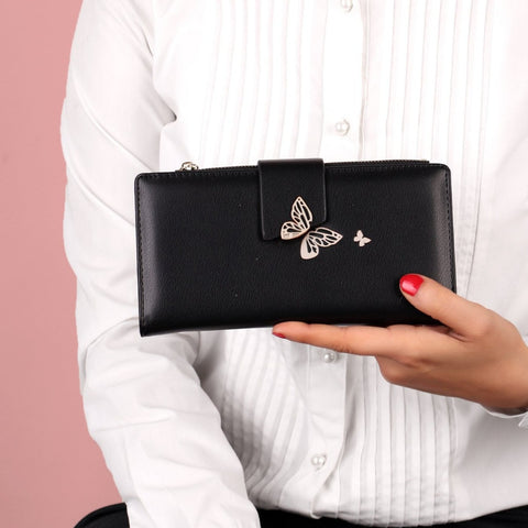 The Lovely Titli wallet in Black