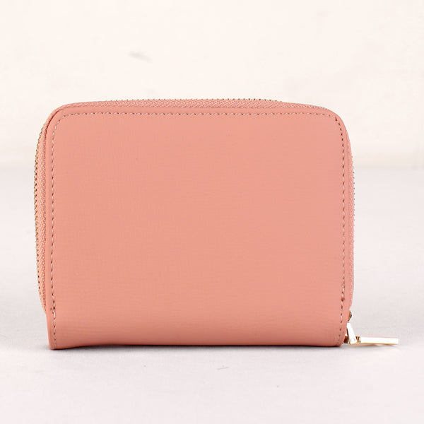 The Dual Fern Wallet in Pink