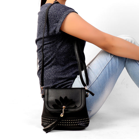 Sling Bag,All Time Black Sling Bag - Cippele Multi Store