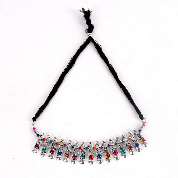 Necklace,Colorblast Choker Necklace - Cippele Multi Store