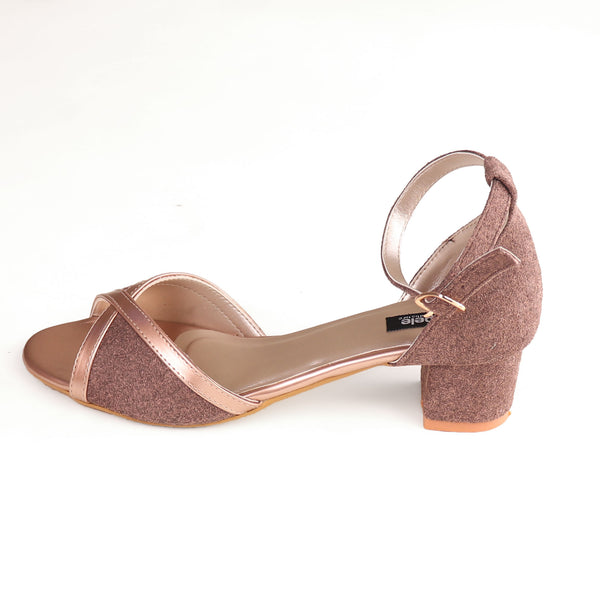 Foot Wear,The Sultani Suede Block Heel - Cippele Multi Store