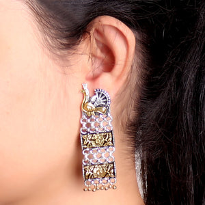 Earrings,Step By Step Earrings - Cippele Multi Store