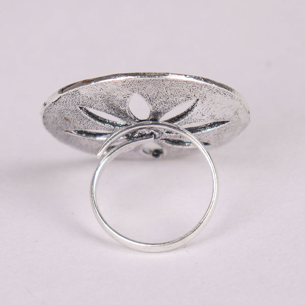 Ring,The see through Flower Ring - Cippele Multi Store