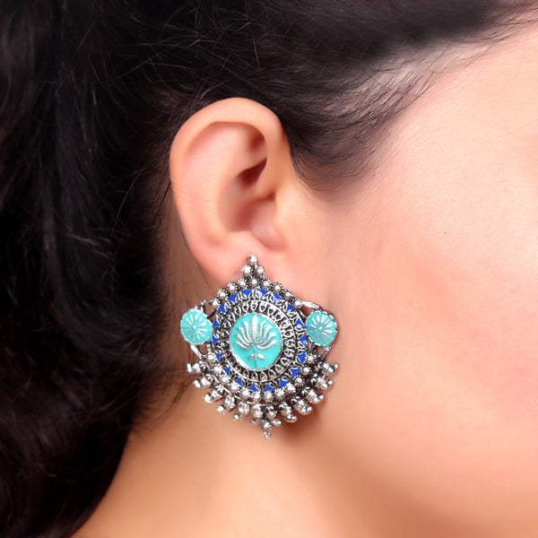 Earrings,Quirky Metal Studs - Cippele Multi Store