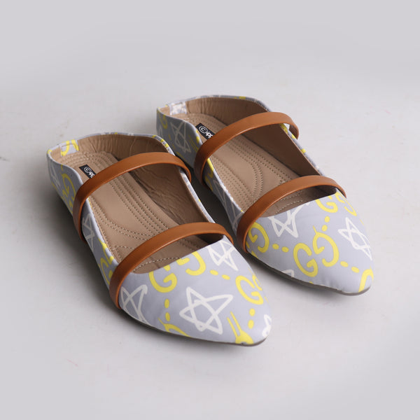 Foot Wear,Double Strap Mules - Cippele Multi Store