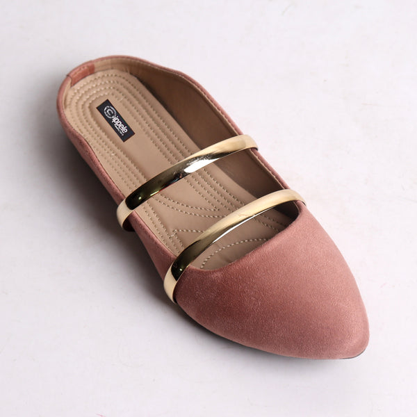 Foot Wear,Double Strap Mules in Suede - Cippele Multi Store