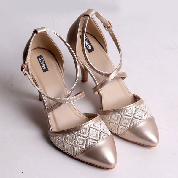 Foot Wear,Criss Cross Strap Heels - Cippele Multi Store