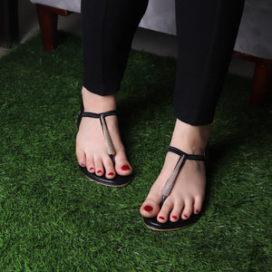 The Sweet Corn Flats in Black