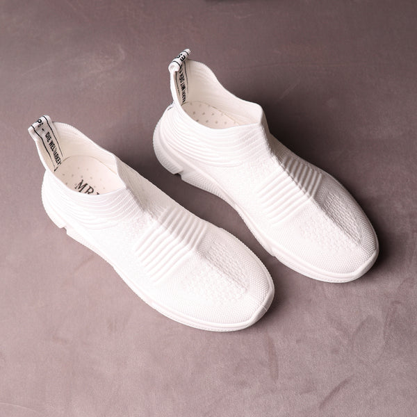 Foot Wear,The Cozy Gliders in White - Cippele Multi Store
