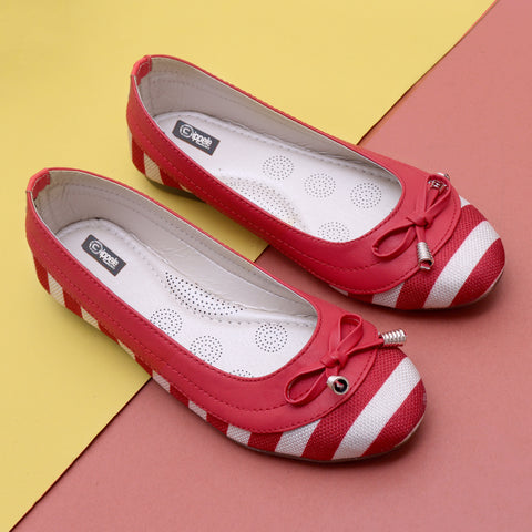 Foot Wear,Red like a Rose Bellies - Cippele Multi Store