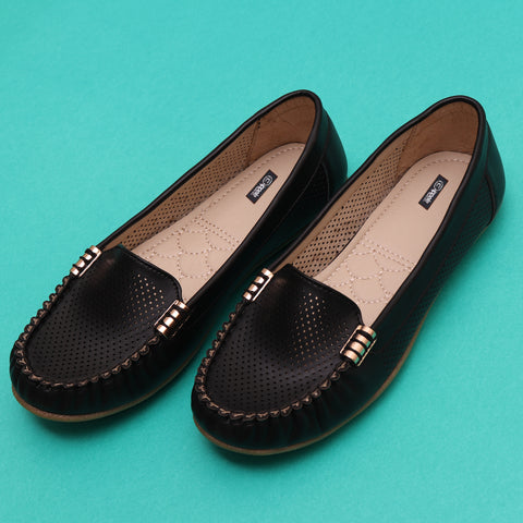 Foot Wear,Rock N Roll Black Loafer Mules - Cippele Multi Store