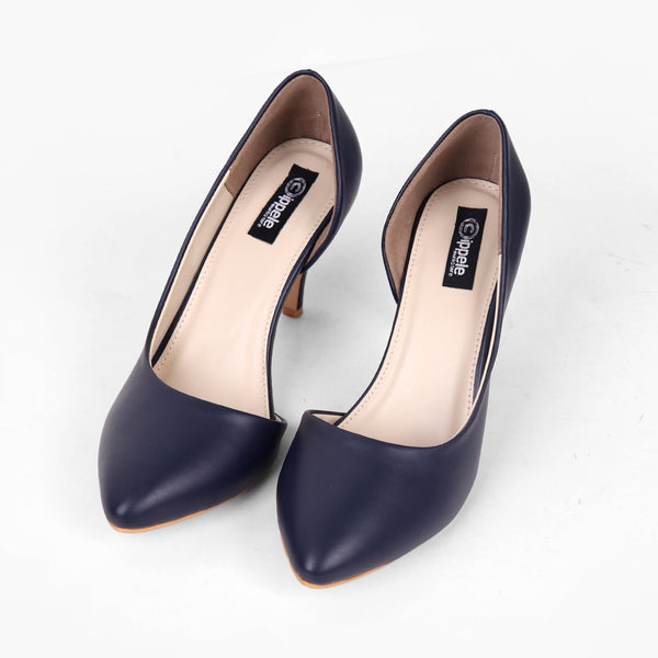 Foot Wear,Basic Blue D'Orsay Pumps - Cippele Multi Store