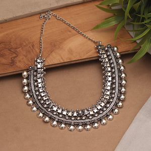 Blissful Knotted Choker Necklace