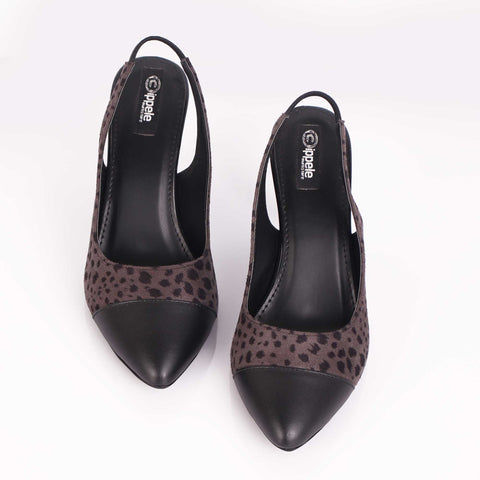 The Mystic Dark Colored Cat Heels