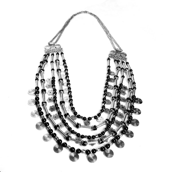 Necklace,Queen Style Layered Necklace - Cippele Multi Store