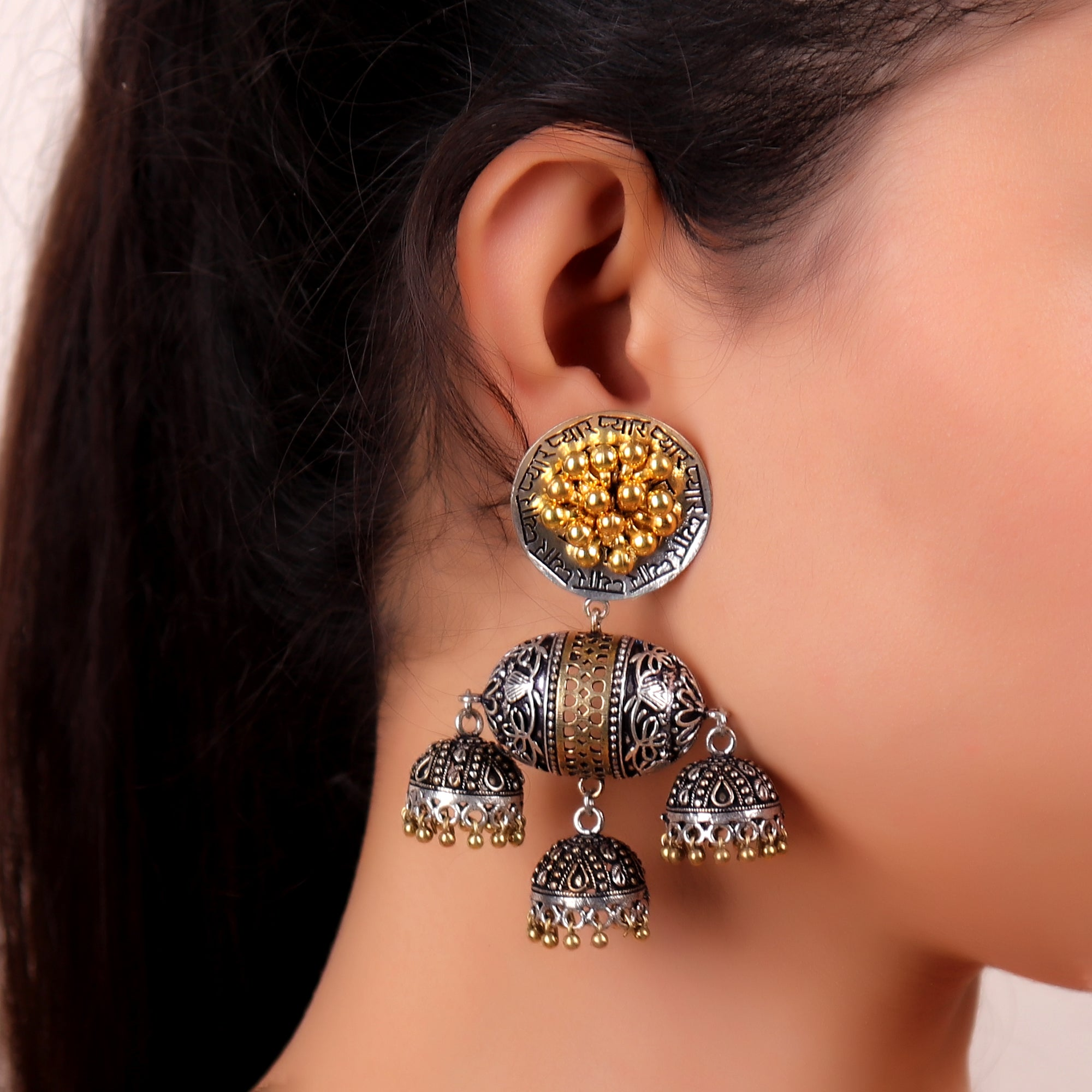 Earrings,South Indian Style earrings - Cippele Multi Store