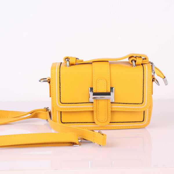 The Bold Sober Yellow Sling Bag
