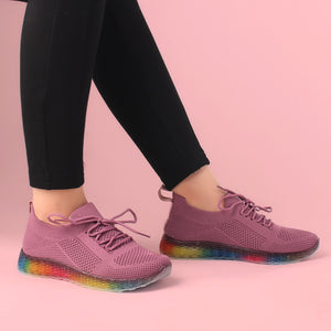 The Rainbow Mauve Gliders