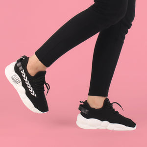 Foot Wear,The Bubble Black Glider - Cippele Multi Store