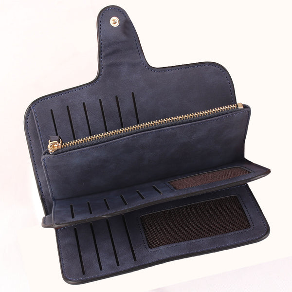 Wallet,The Enthralling Wallet in Blue - Cippele Multi Store