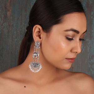 Earrings,The Floating Elephant Earrings - Cippele Multi Store
