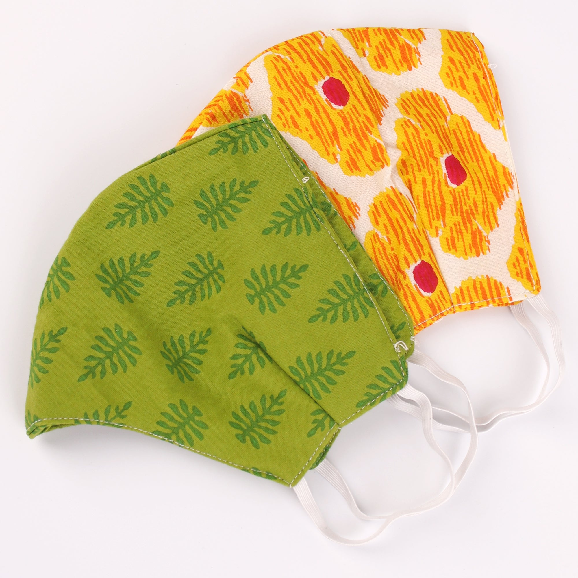 The Fern Face Mask and the Sunny Face Mask- Set of 2