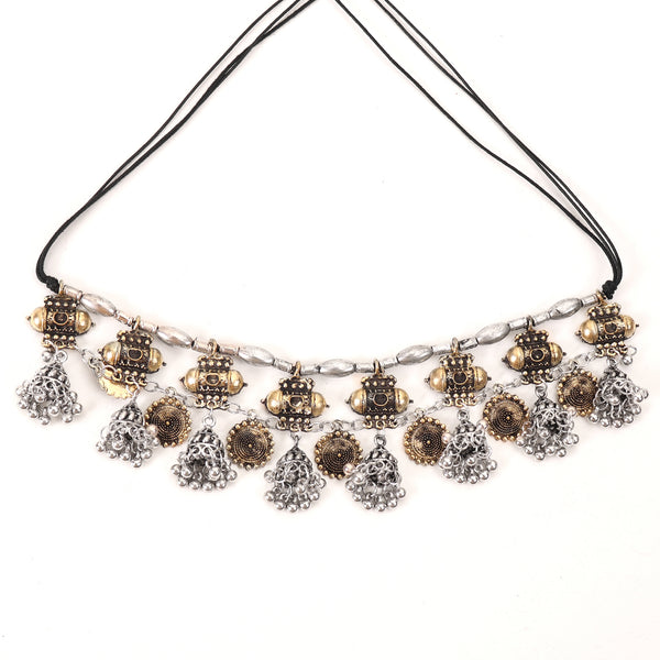Necklace,The treasure Box-Plate Necklace in Dual Tone - Cippele Multi Store