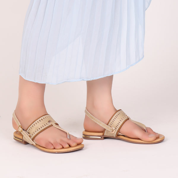 Foot Wear,Zip it up Flats in Cream - Cippele Multi Store