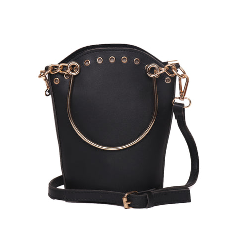 Pleasant Surprise Bucket Shoulder Bag