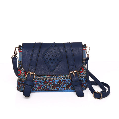 The Perfect Blue Cross Body Bag