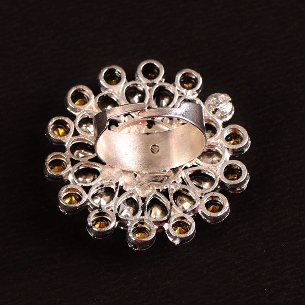 Ring & Earring Set,The Caledonia Crystal- Rings and Earring Set - Cippele Multi Store