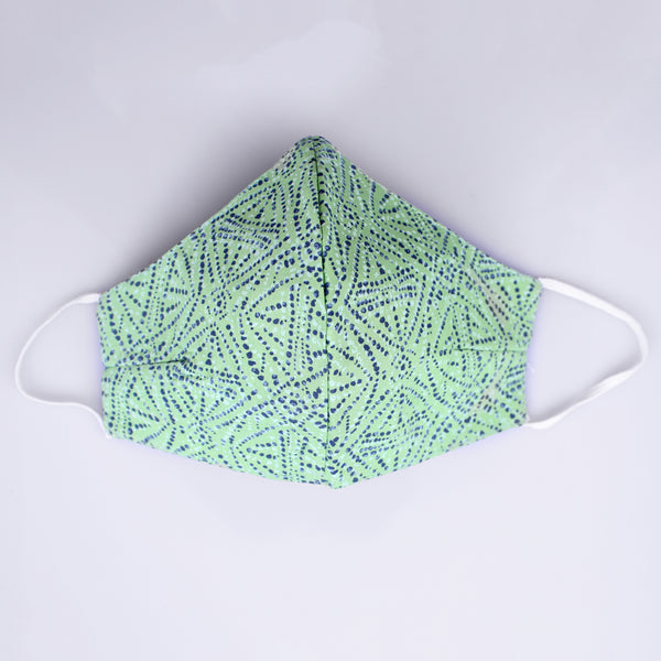 The Cool Dotted Groovy Face Mask