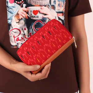The Mushy Red Melon Wallet
