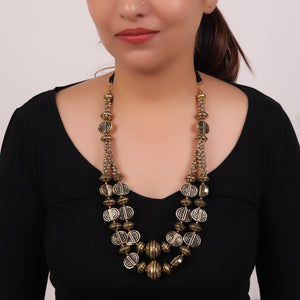 Necklace,The statement Necklace in Golden - Cippele Multi Store