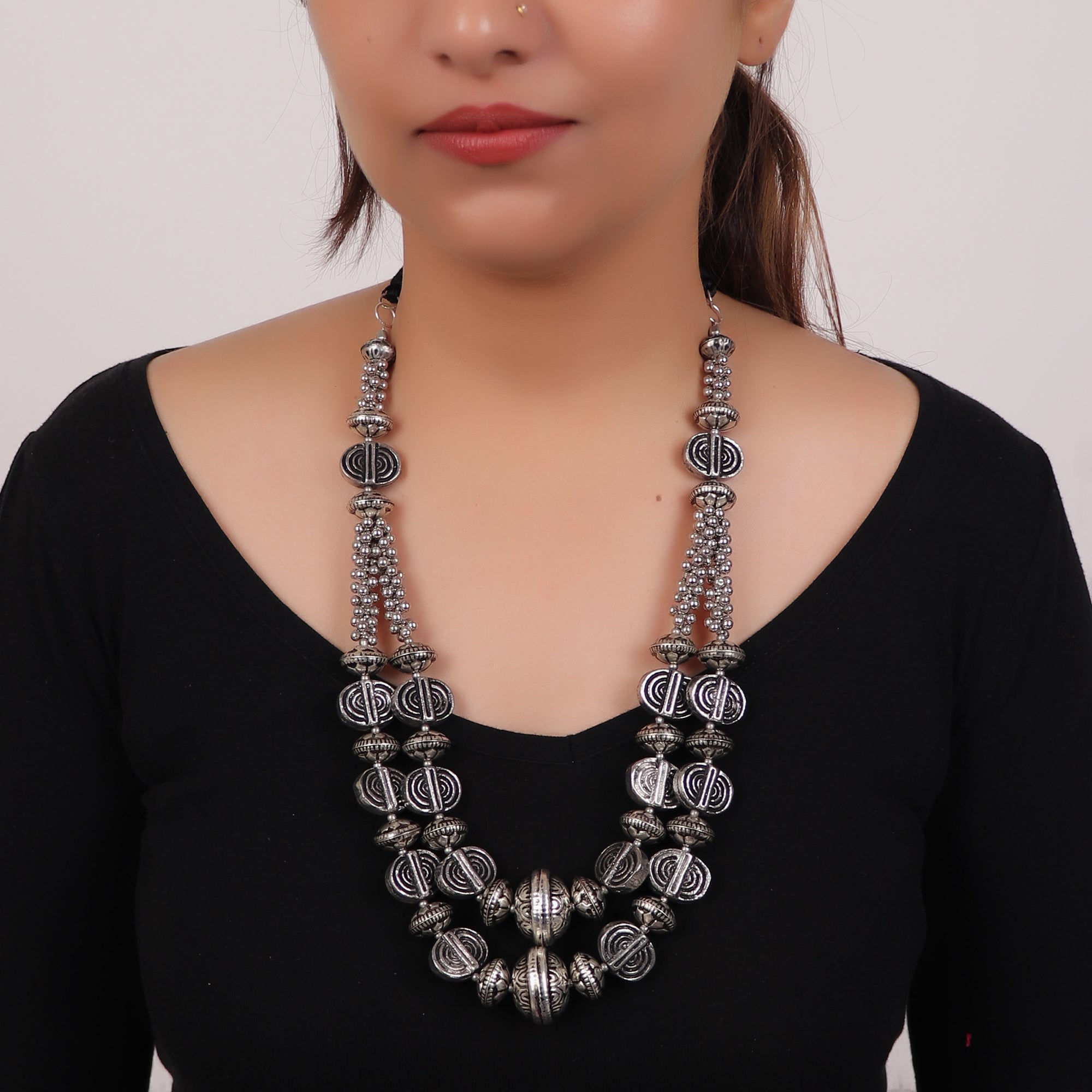 The statement Necklace in Silver