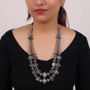 Necklace,The statement Necklace in Silver - Cippele Multi Store