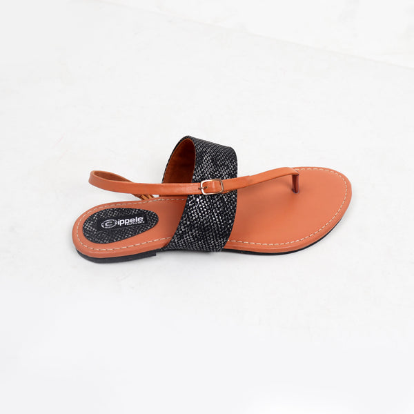 Foot Wear,Something Fashionable Sandals With Black Upper - Cippele Multi Store