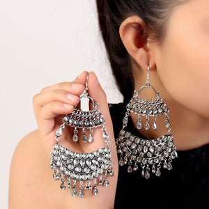 Earrings,Enigmatic Afghani Jhumkas - Cippele Multi Store