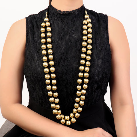 Necklace,Golden Amazeballs Neck Piece - Cippele Multi Store