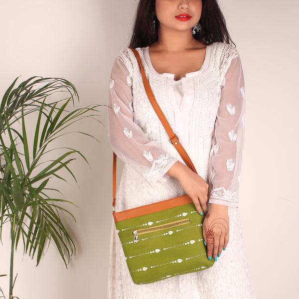 Sling Bag,The Tassel on Green Club Bag - Cippele Multi Store