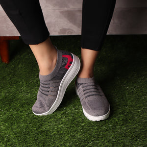 Foot Wear,The Cheerful Intimate Gliders in Grey - Cippele Multi Store
