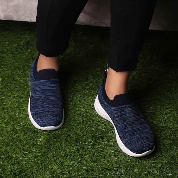 Foot Wear,The Zestful Gliders in Blue - Cippele Multi Store