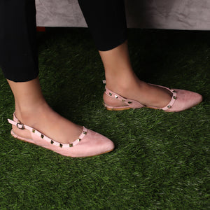 Foot Wear,The Glitters on Trotters Valentino in Baby Pink - Cippele Multi Store