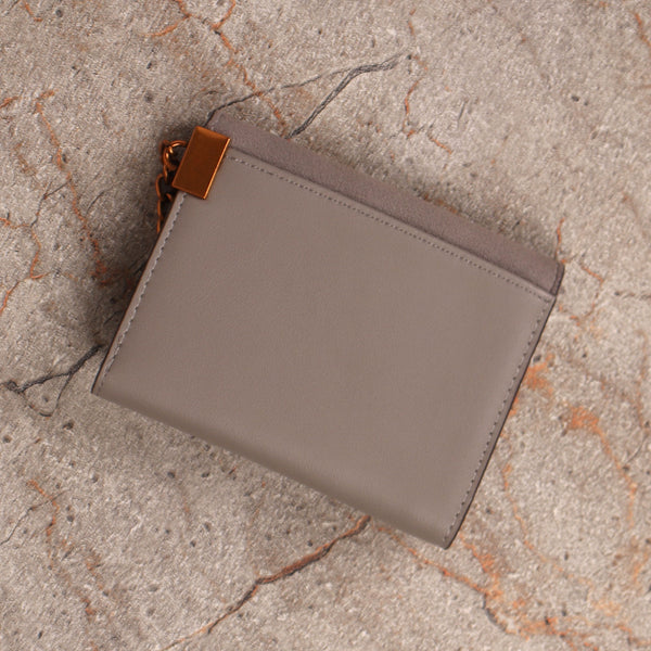 Wallet,The Ring Wallet in Grey - Cippele Multi Store