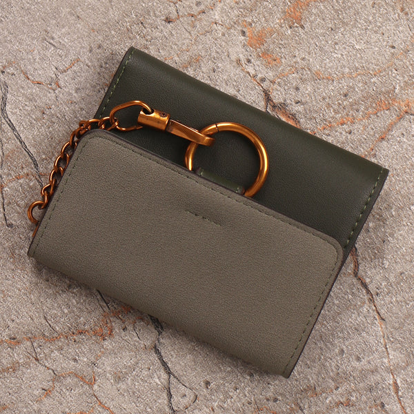 Wallet,The Ring Wallet in Green - Cippele Multi Store