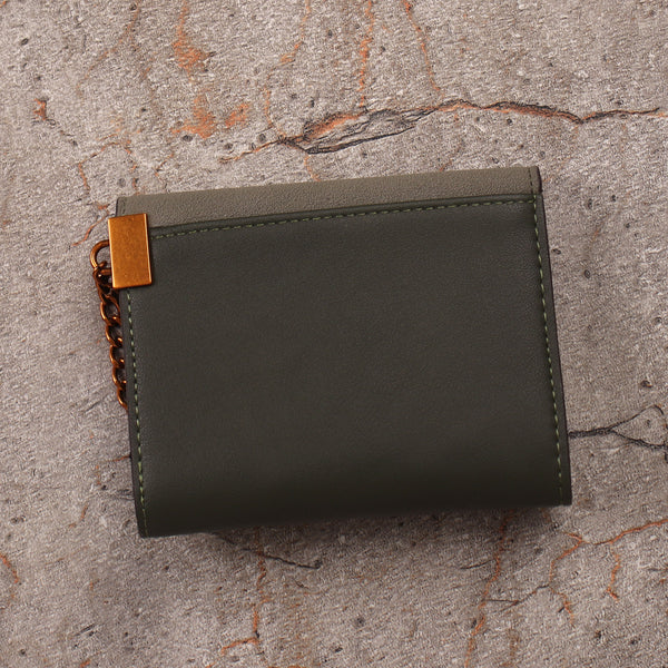 The Ring Wallet in Green